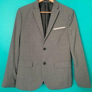 H&M Slim Fit Gray Blazer (38R)